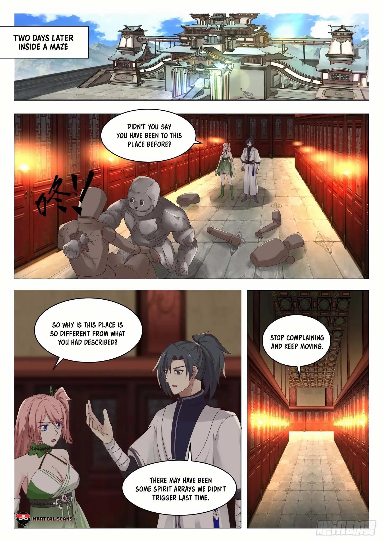 Martial Peak Chapter 1322: Pure Life Revitalizing Jade Cream page 2 - Mangakakalots.com