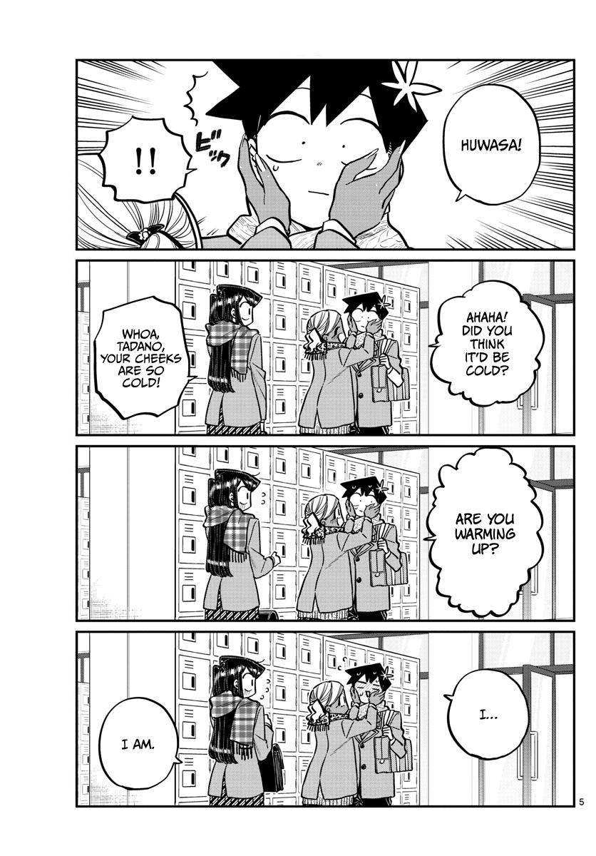 Komi-San Wa Komyushou Desu Chapter 255: Pocket Heater page 5 - Mangakakalot
