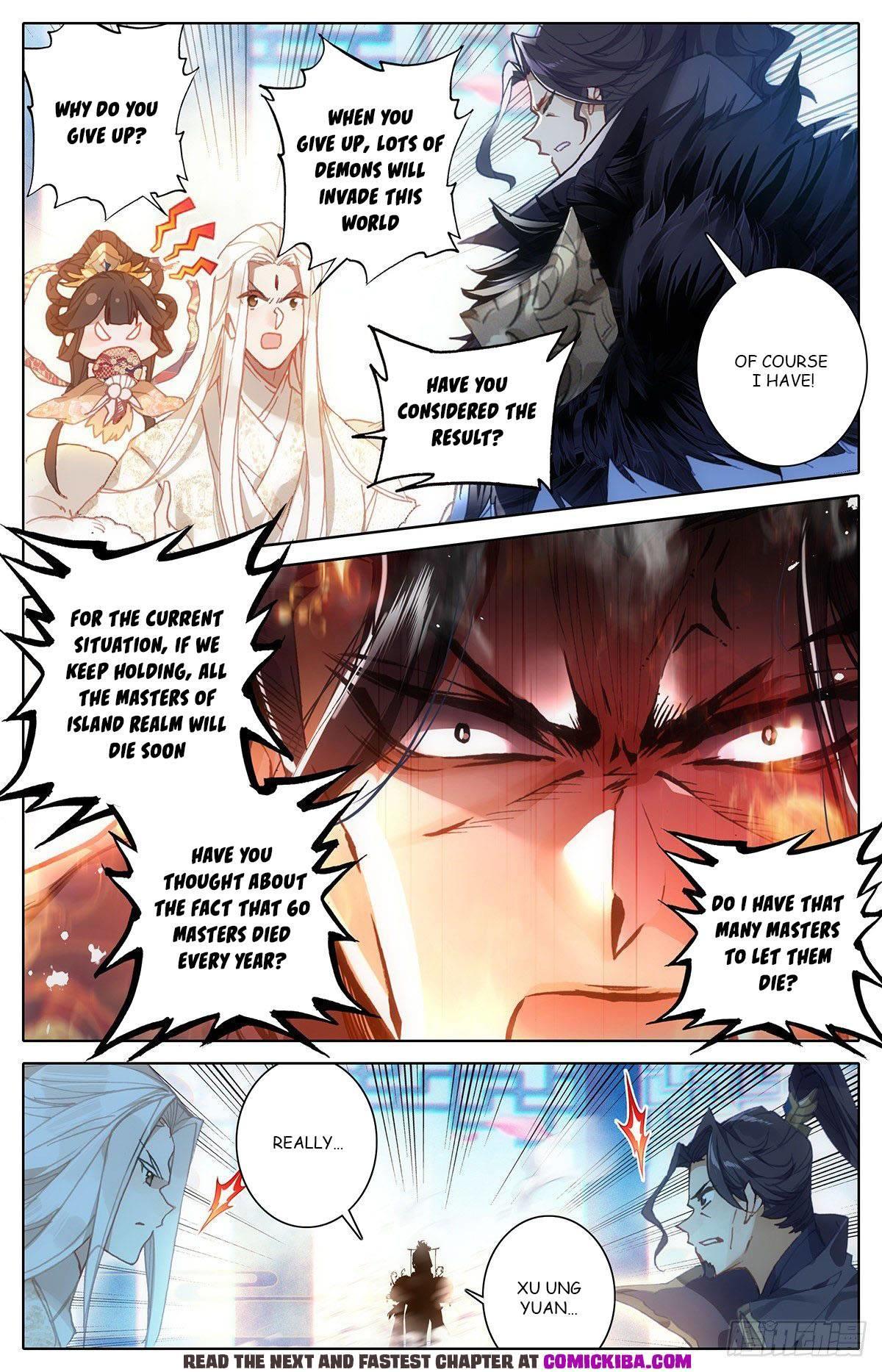 Azure Legacy Chapter 100 page 4 - Mangakakalots.com