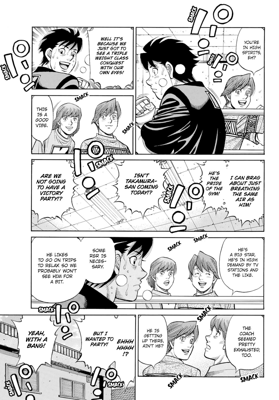 Hajime No Ippo Chapter 1350: Keith's Back page 4 - Mangakakalots.com