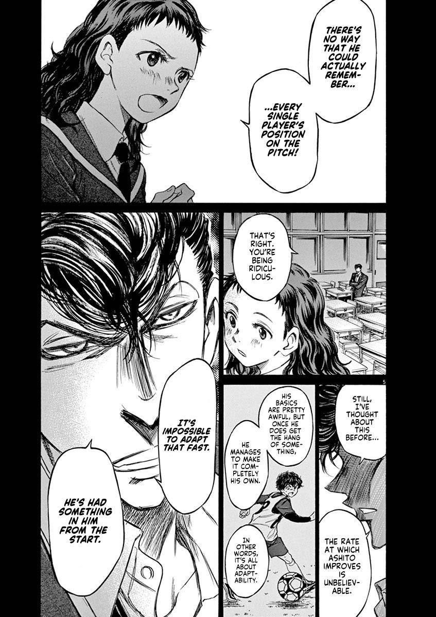 Ao Ashi Chapter 54: Eagle Eye (2) page 5 - Mangakakalots.com
