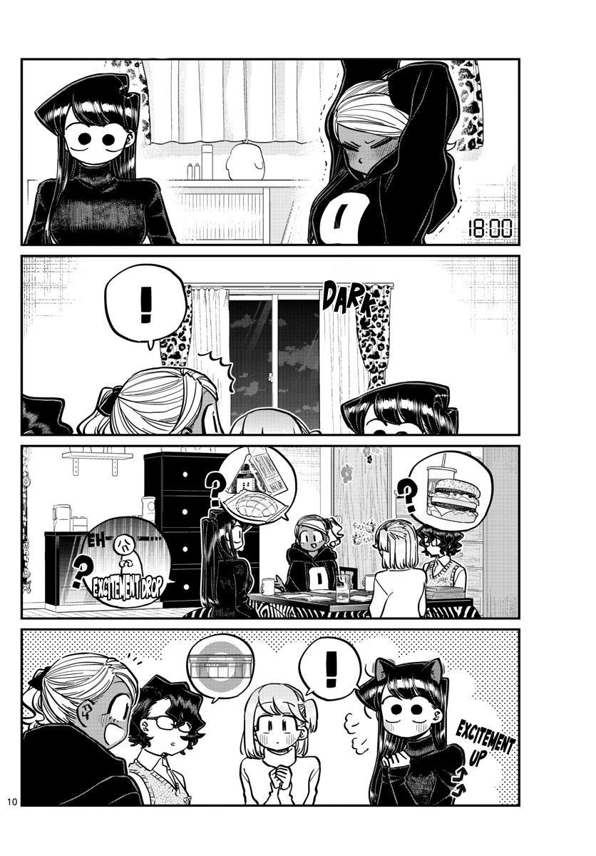 Komi-San Wa Komyushou Desu Chapter 257: Studying And A Sleepover page 10 - Mangakakalots.com