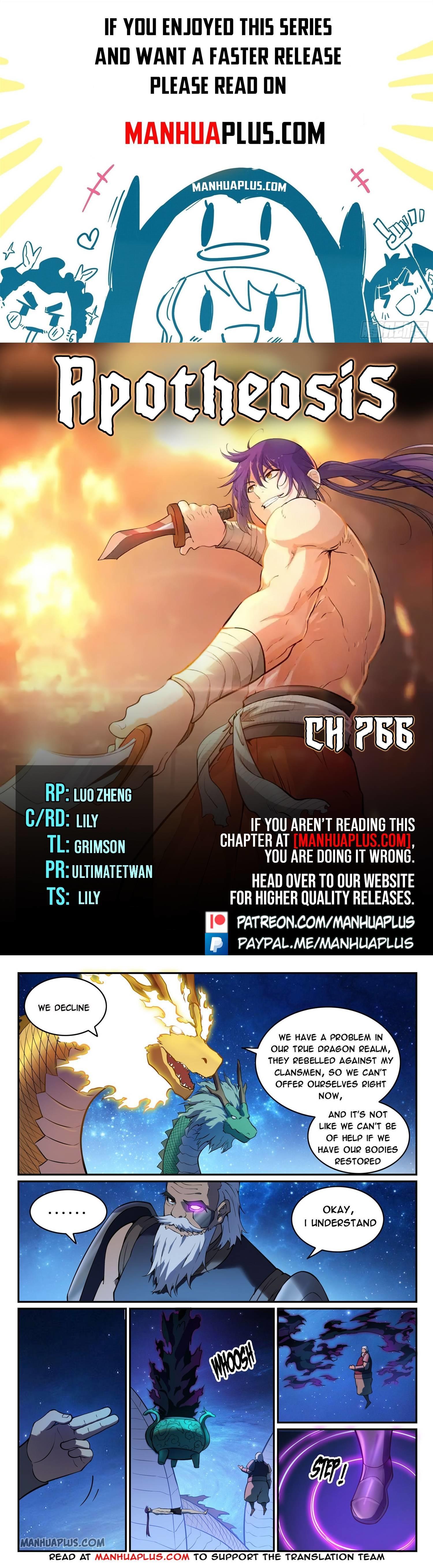 Apotheosis Chapter 766 page 1 - Mangakakalots.com