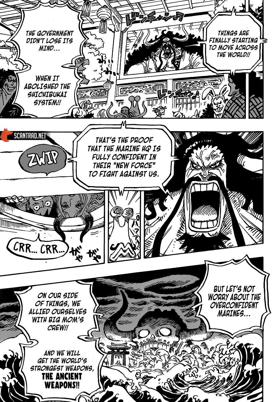 One Piece Chapter 985 page 10 - mangaseinen.com