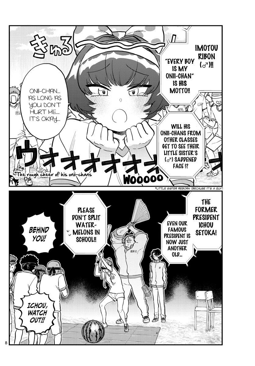 Komi-San Wa Komyushou Desu Chapter 209: Second Year Sports Festival 2 page 4 - Mangakakalot