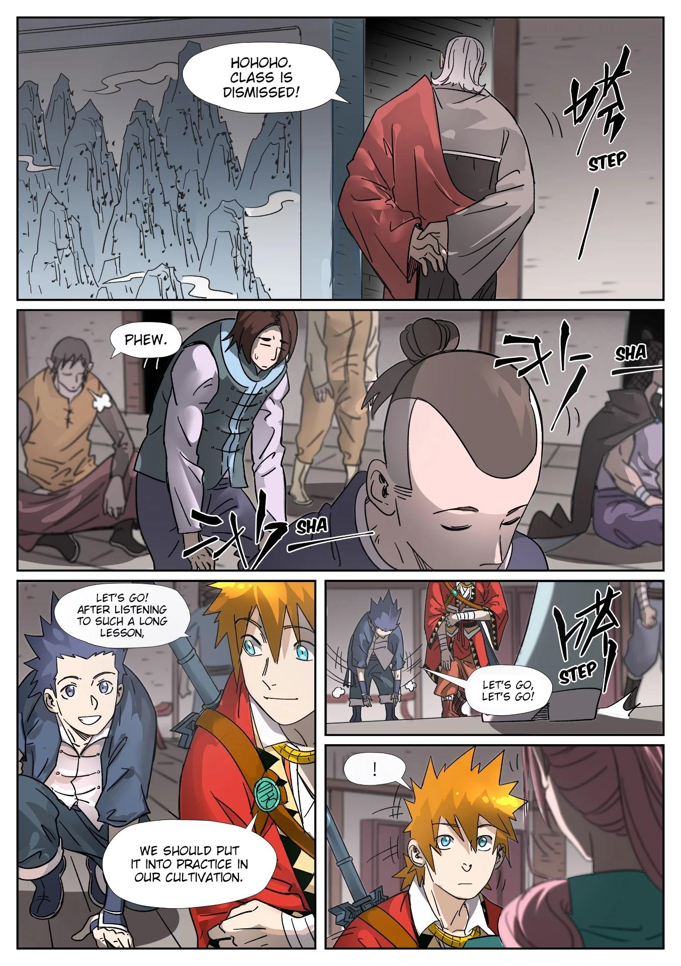 Tales Of Demons And Gods Chapter 306: Getting To Know The New Classmates page 3 - Mangakakalots.com