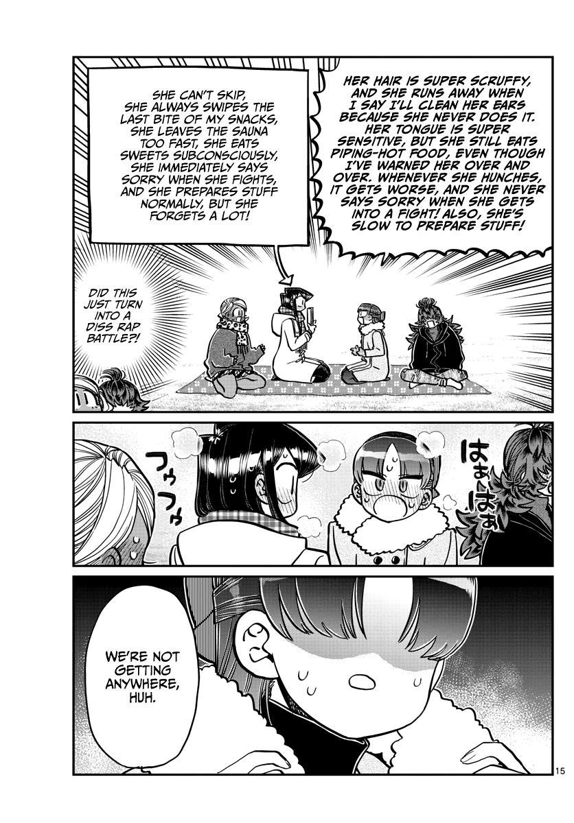 Komi-San Wa Komyushou Desu Chapter 284: Reunion page 15 - Mangakakalot