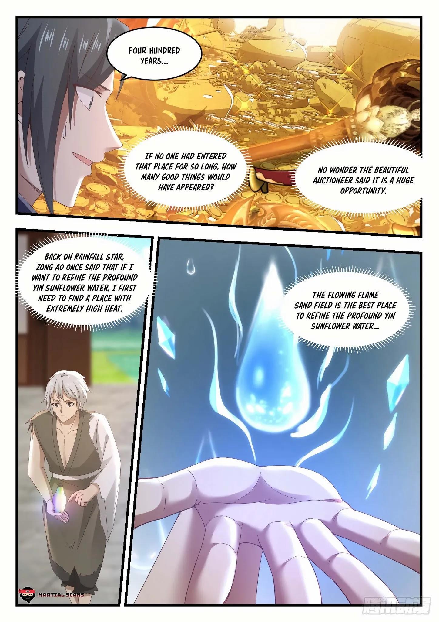 Martial Peak Chapter 1057: Three Great Forbidden Zones page 11 - Mangakakalots.com