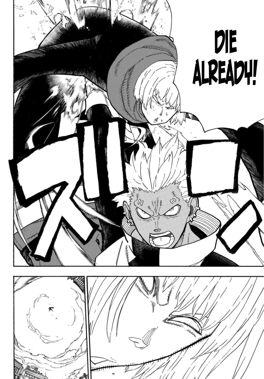 Enen No Shouboutai Chapter 279: Suppressing Assault page 18 - Mangakakalot