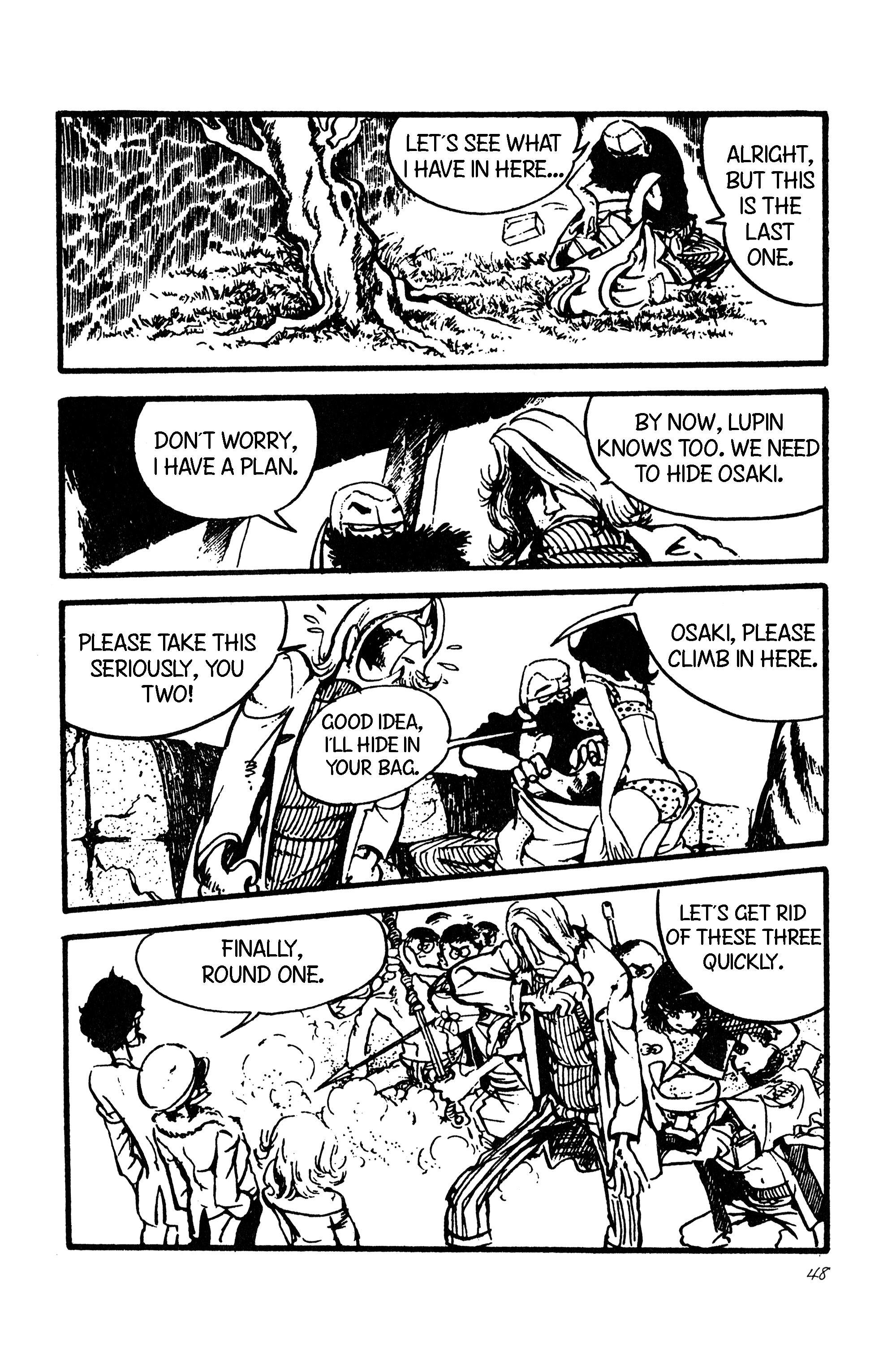 Lupin Iii Vol.9 Chapter 101: International Thievery Competition (Part 2) page 18 - Mangakakalots.com
