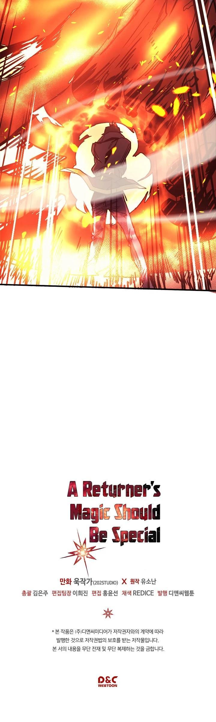 A Returner's Magic Should Be Special Chapter 113 page 43 - Mangakakalots.com