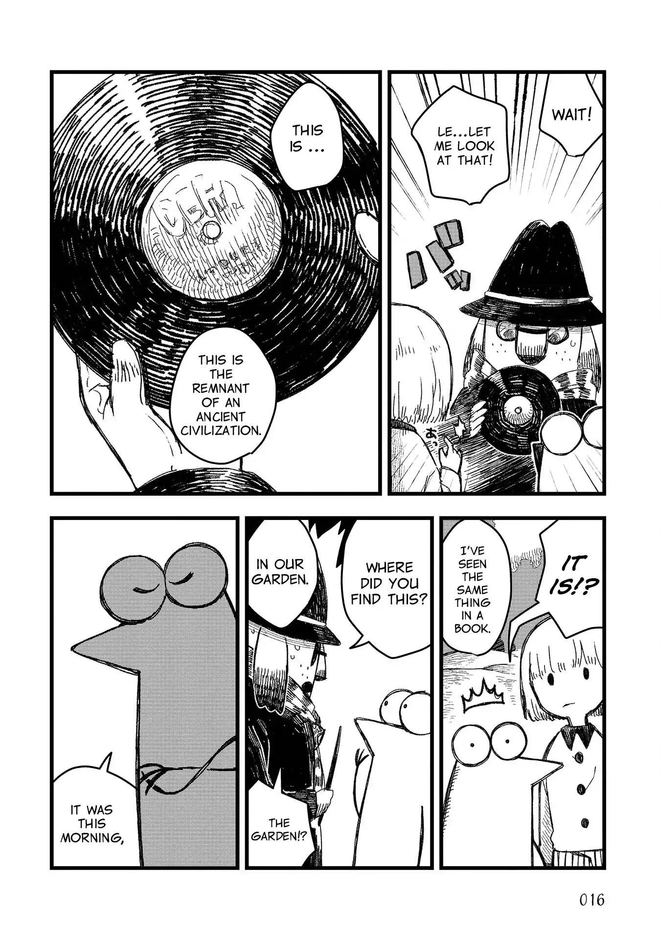 Rojica To Rakkasei Chapter 1: Mysterious Disc page 12 - Mangakakalots.com