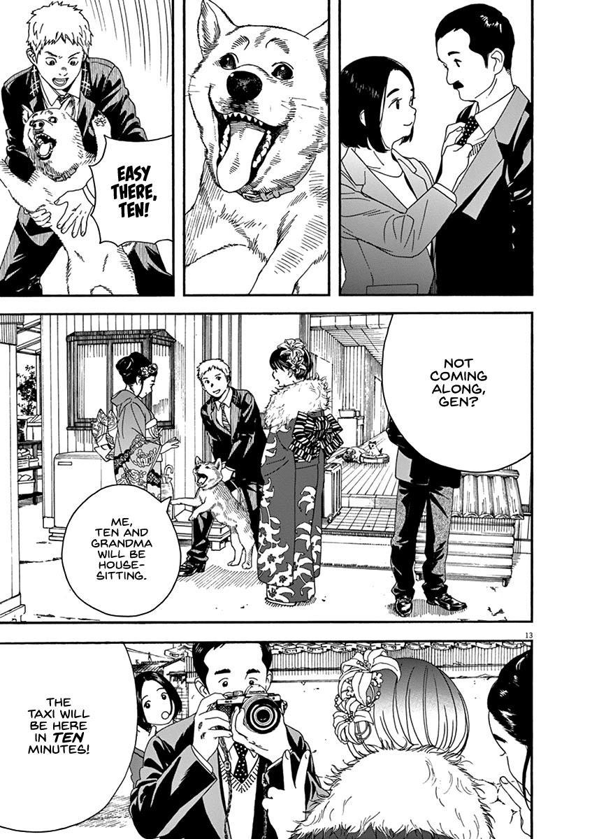 Neko No Otera No Chion-San Chapter 64: Coming-Of-Age Ceremony, Family And Chion page 13 - Mangakakalots.com