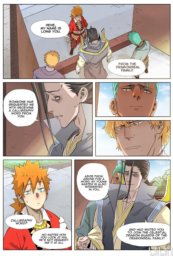 Tales Of Demons And Gods Chapter 344.5 page 8 - Mangakakalot