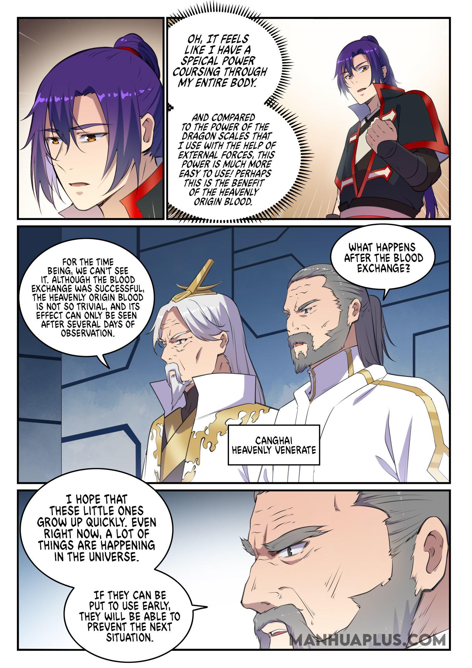Apotheosis Chapter 703 page 4 - Mangakakalots.com