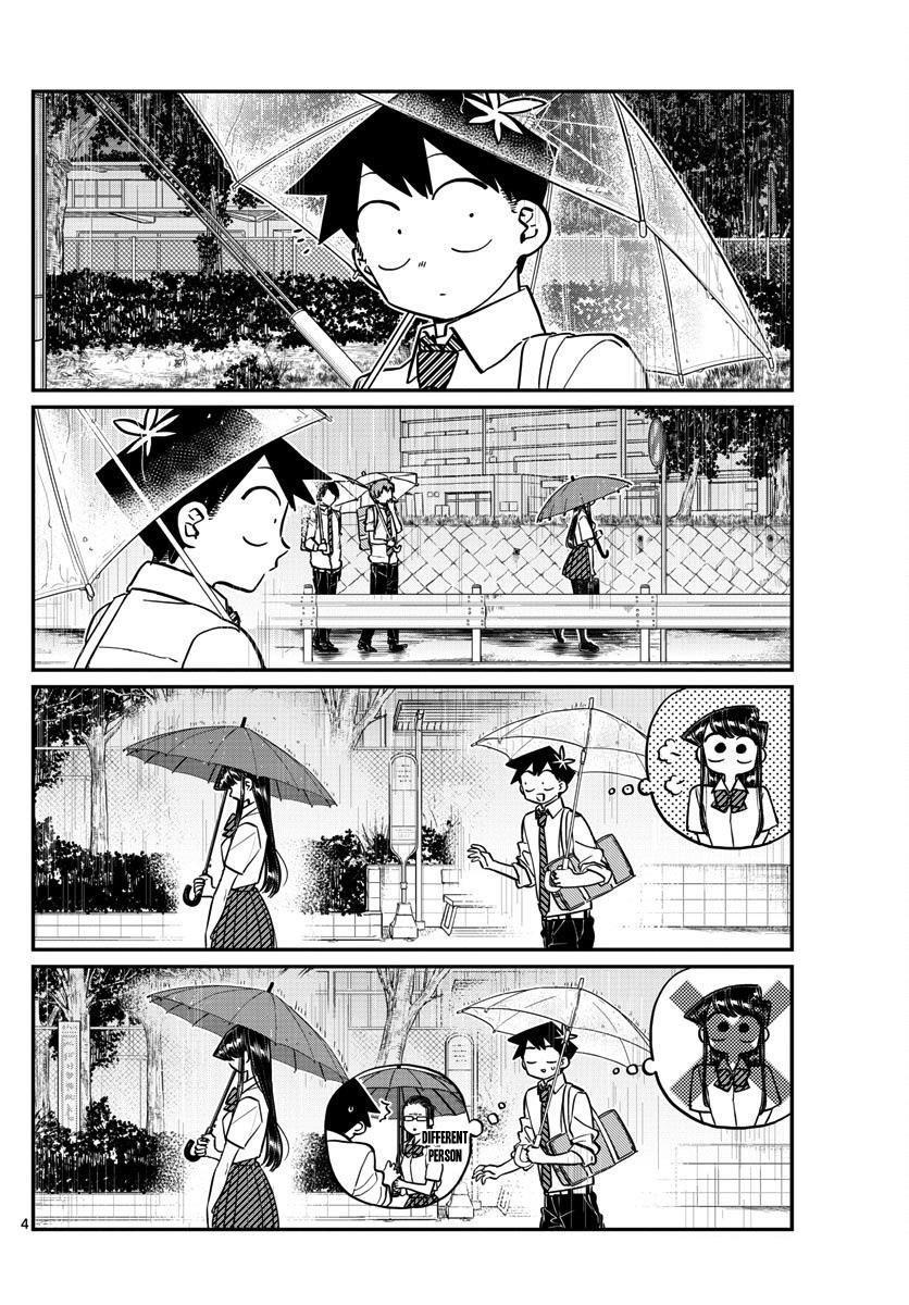 Komi-San Wa Komyushou Desu Vol.11 Chapter 154: Rainy Season page 4 - Mangakakalot