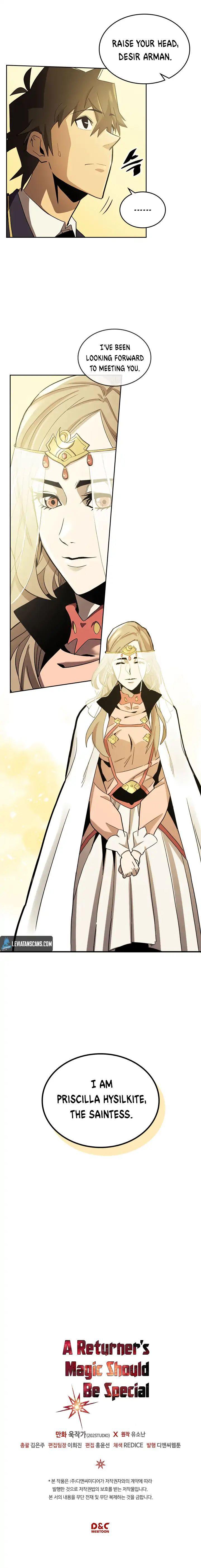 A Returner's Magic Should Be Special Chapter 76 page 9 - Mangakakalots.com