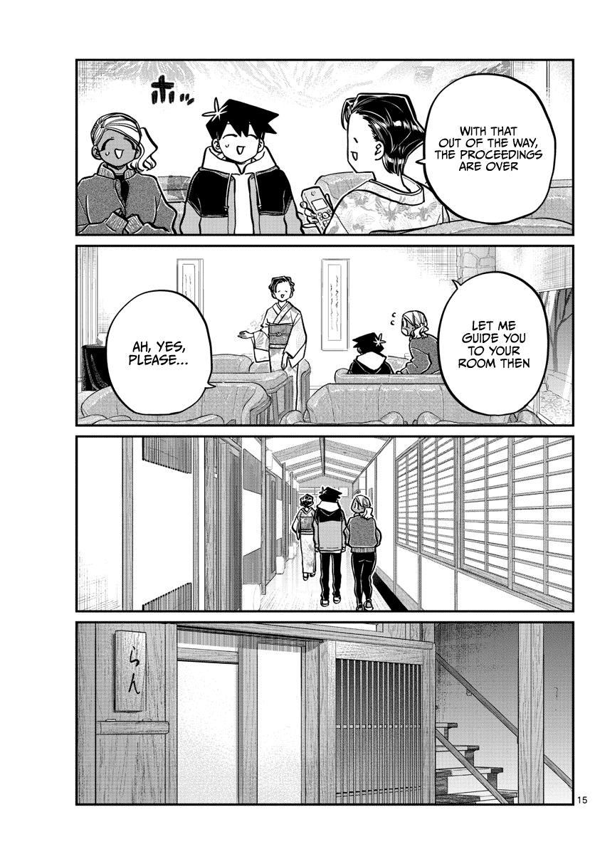 Komi-San Wa Komyushou Desu Chapter 263: Inn page 15 - Mangakakalot