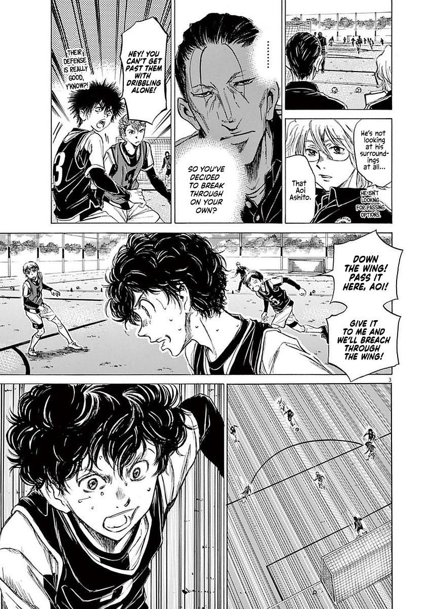 Ao Ashi Vol.4 Chapter 30: Walk page 3 - Mangakakalots.com