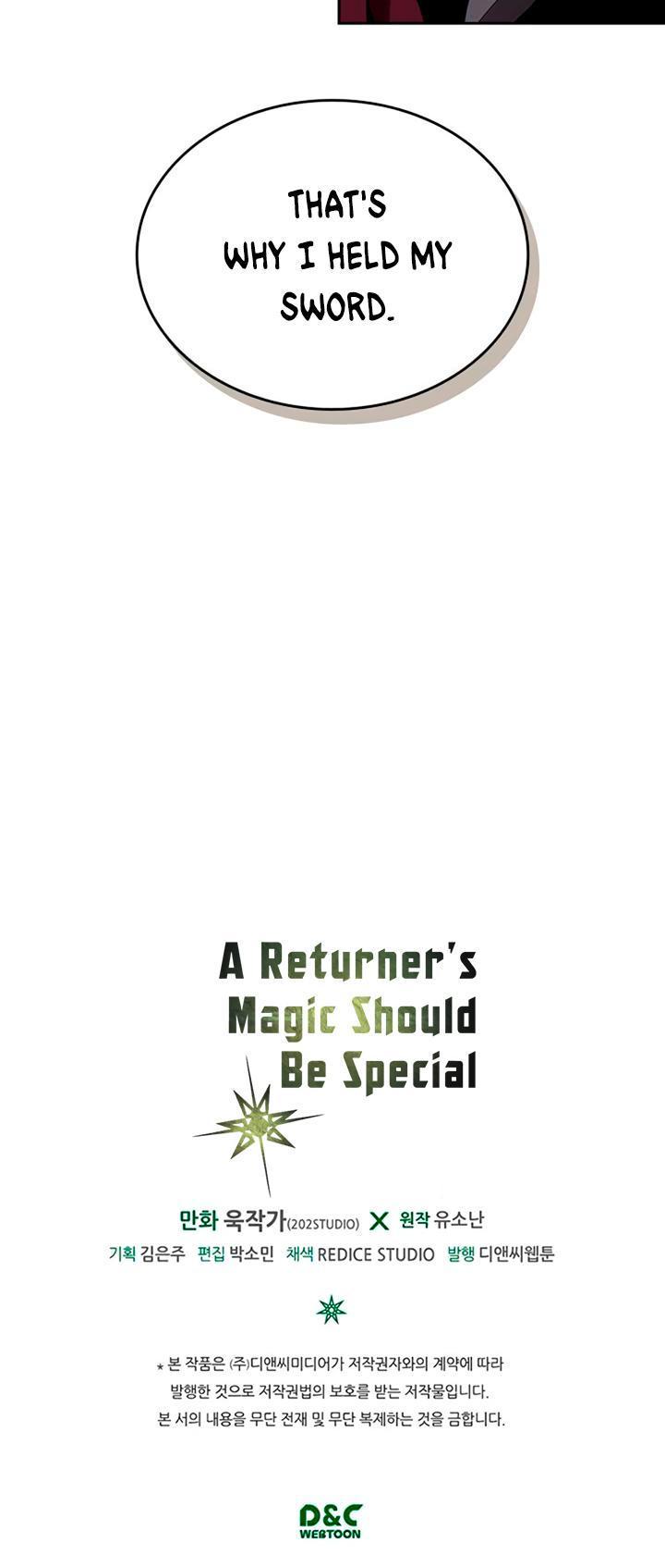 A Returner's Magic Should Be Special Chapter 69 page 38 - Mangakakalots.com