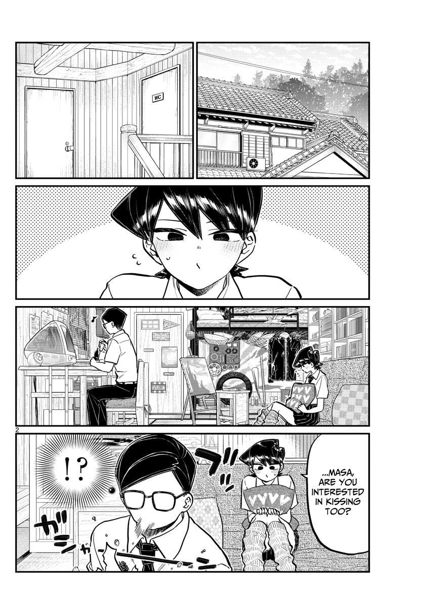 Komi-San Wa Komyushou Desu Chapter 218: Mom And Dad's Kiss page 2 - Mangakakalot