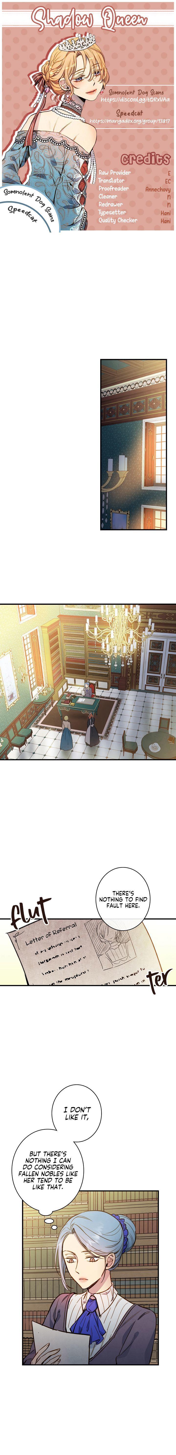Shadow Queen Chapter 30 page 1 - Mangakakalots.com