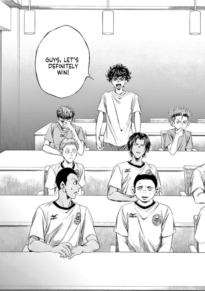 Ao Ashi Vol.9 Chapter 88: Best Lineup page 18 - Mangakakalots.com