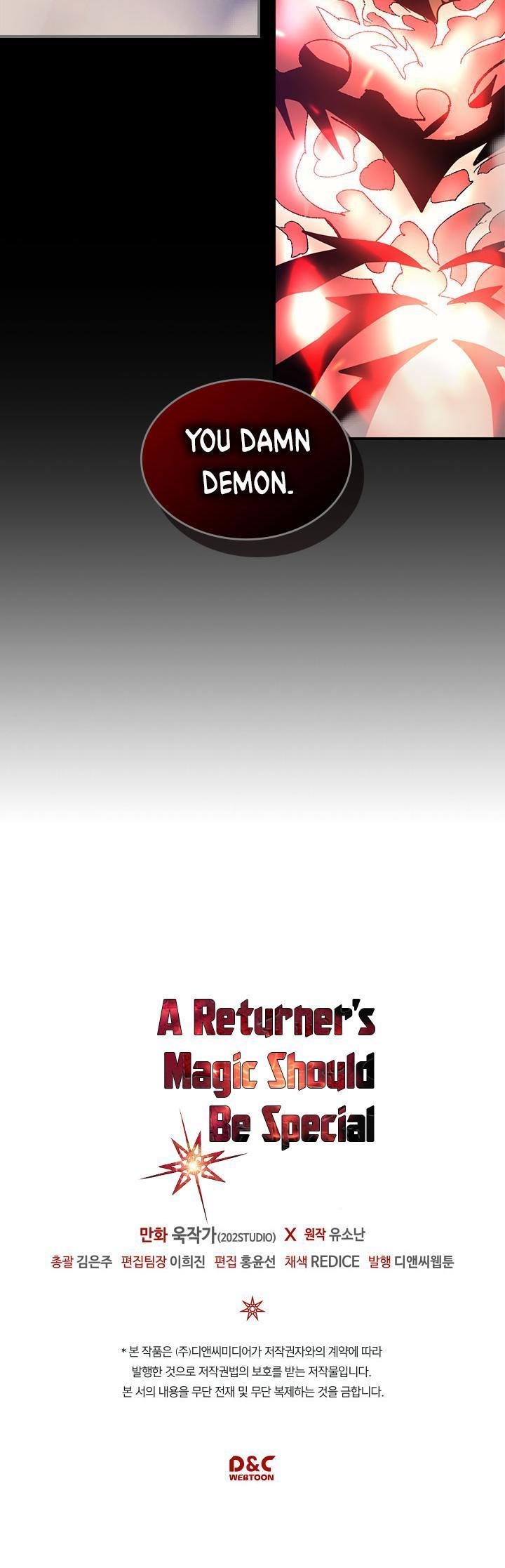 A Returner's Magic Should Be Special Chapter 91 page 29 - Mangakakalots.com