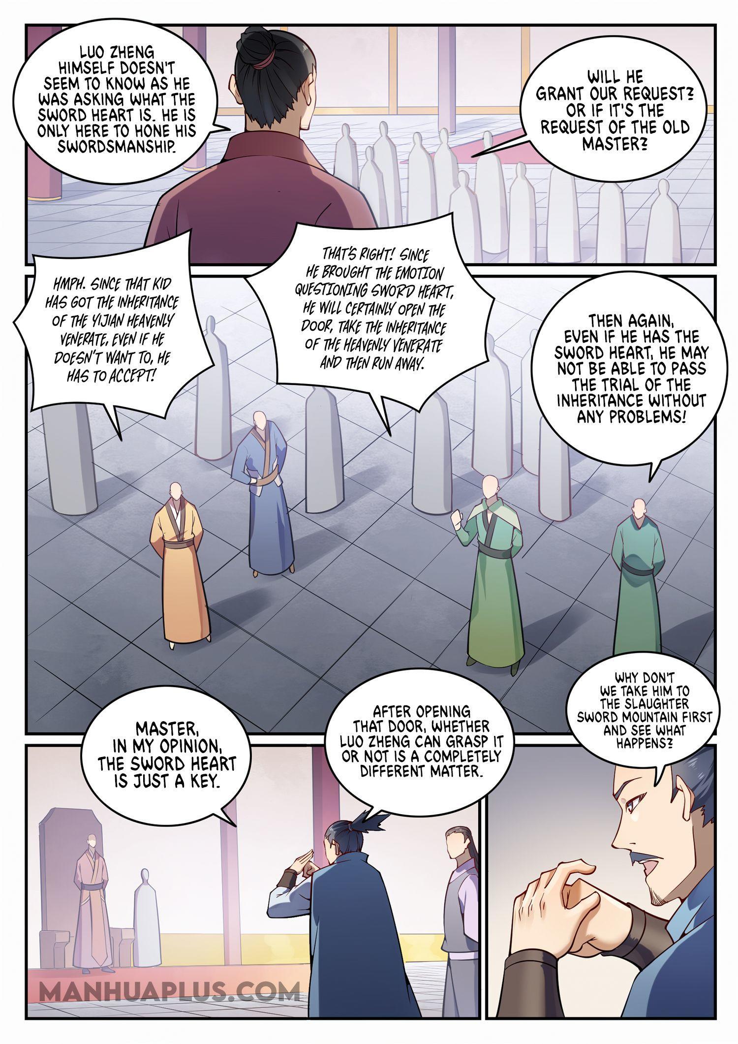 Apotheosis Chapter 695 page 8 - Mangakakalots.com