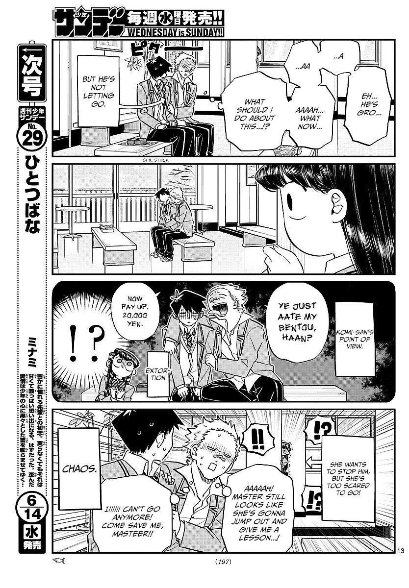 Komi-San Wa Komyushou Desu Vol.6 Chapter 80: Lunch Invitation page 13 - Mangakakalot
