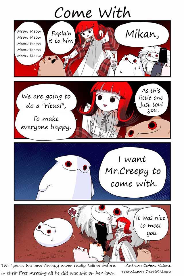 Creepy Cat Chapter 374: Come With page 1 - Mangakakalots.com