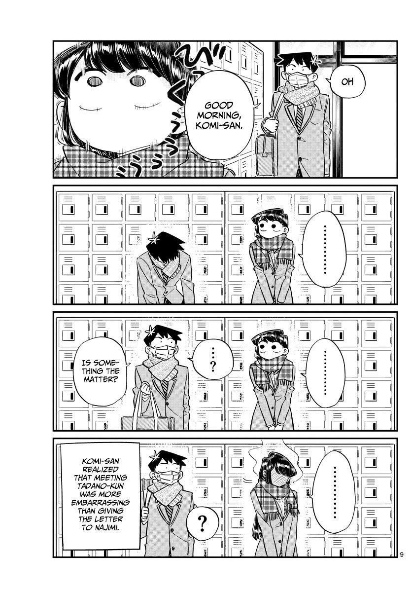 Komi-San Wa Komyushou Desu Vol.8 Chapter 100: A Misunderstanding page 9 - Mangakakalot