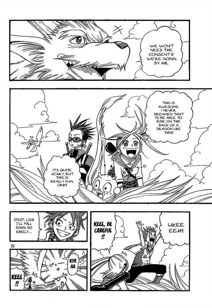 Buster Keel! Vol.2 Chapter 11 : Welcome To The Jungle page 25 - Mangakakalots.com