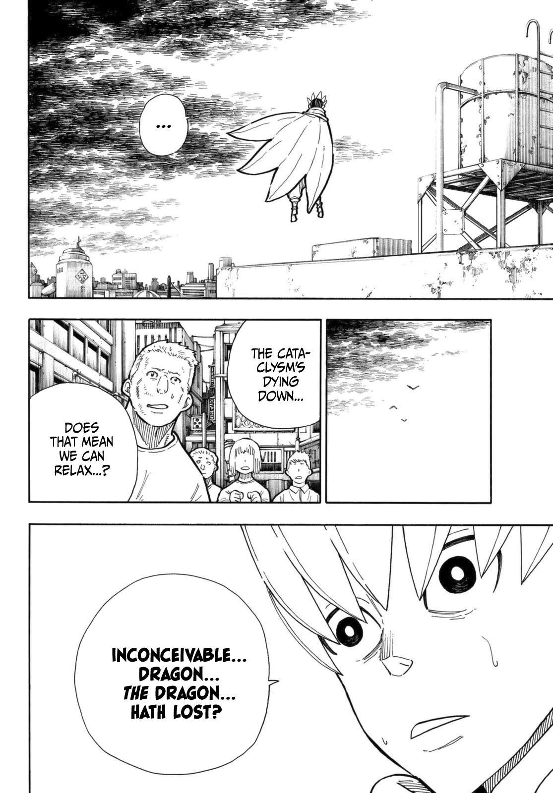 Enen No Shouboutai Chapter 273: He Is Risen page 3 - Mangakakalots.com