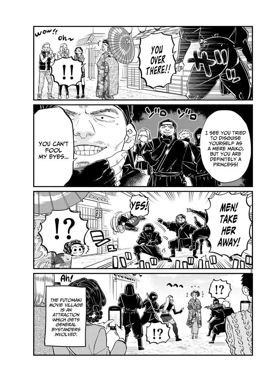 Komi-San Wa Komyushou Desu Vol.8 Chapter 109: Movie Village page 3 - Mangakakalot