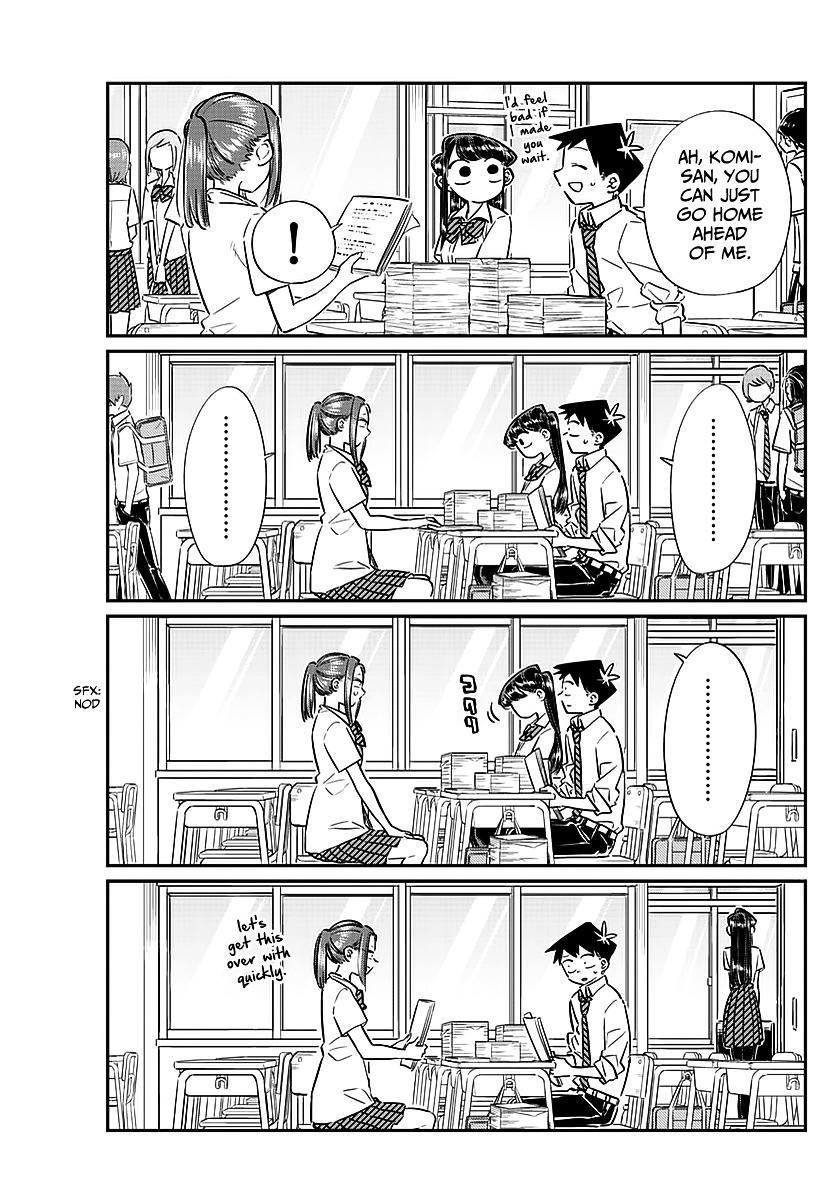 Komi-San Wa Komyushou Desu Vol.5 Chapter 58: A Bit Of An Unpleasant Feeling page 13 - Mangakakalot