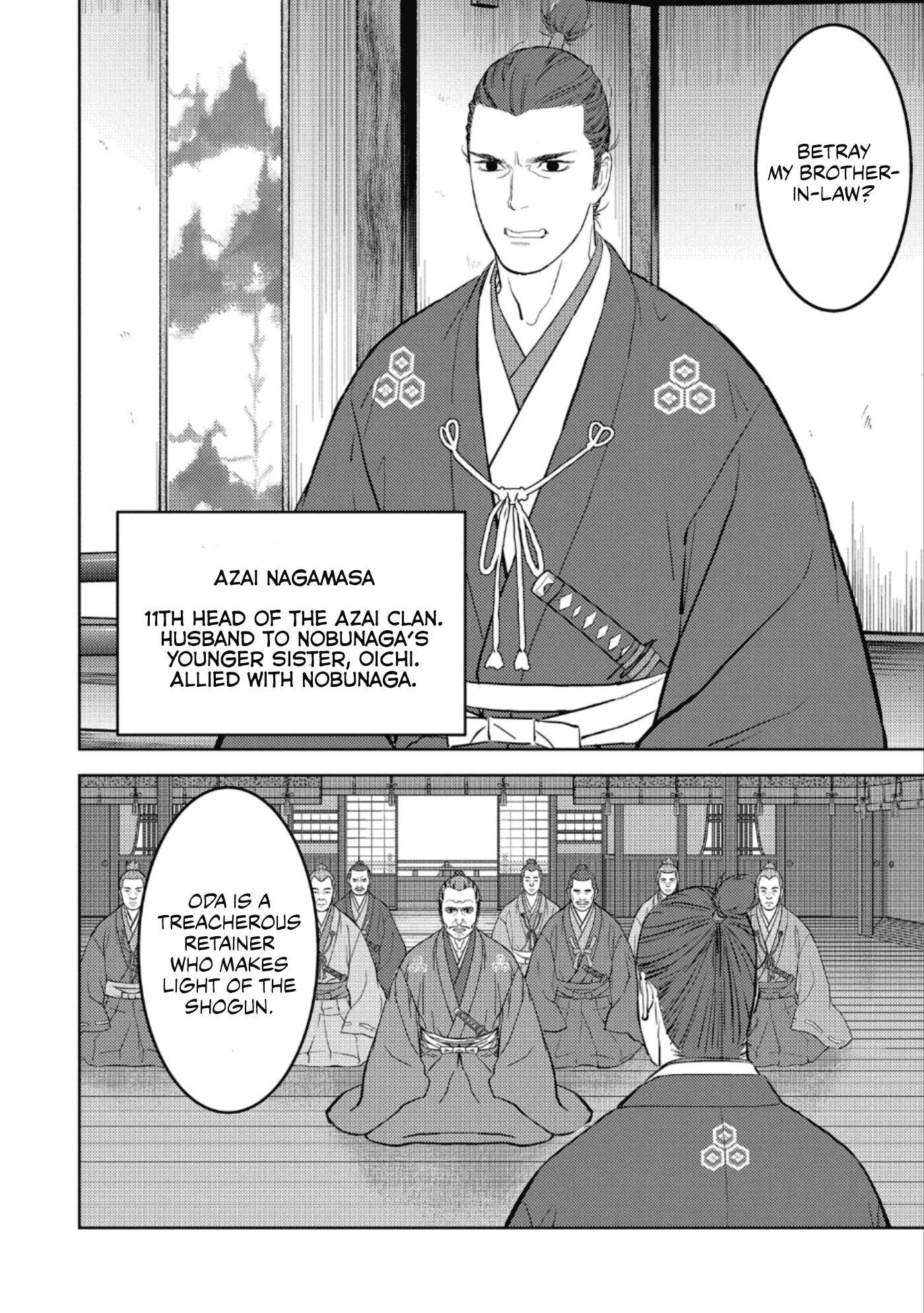 Sengoku Komachi Kurou Tan! Chapter 42 page 3 - Mangakakalots.com