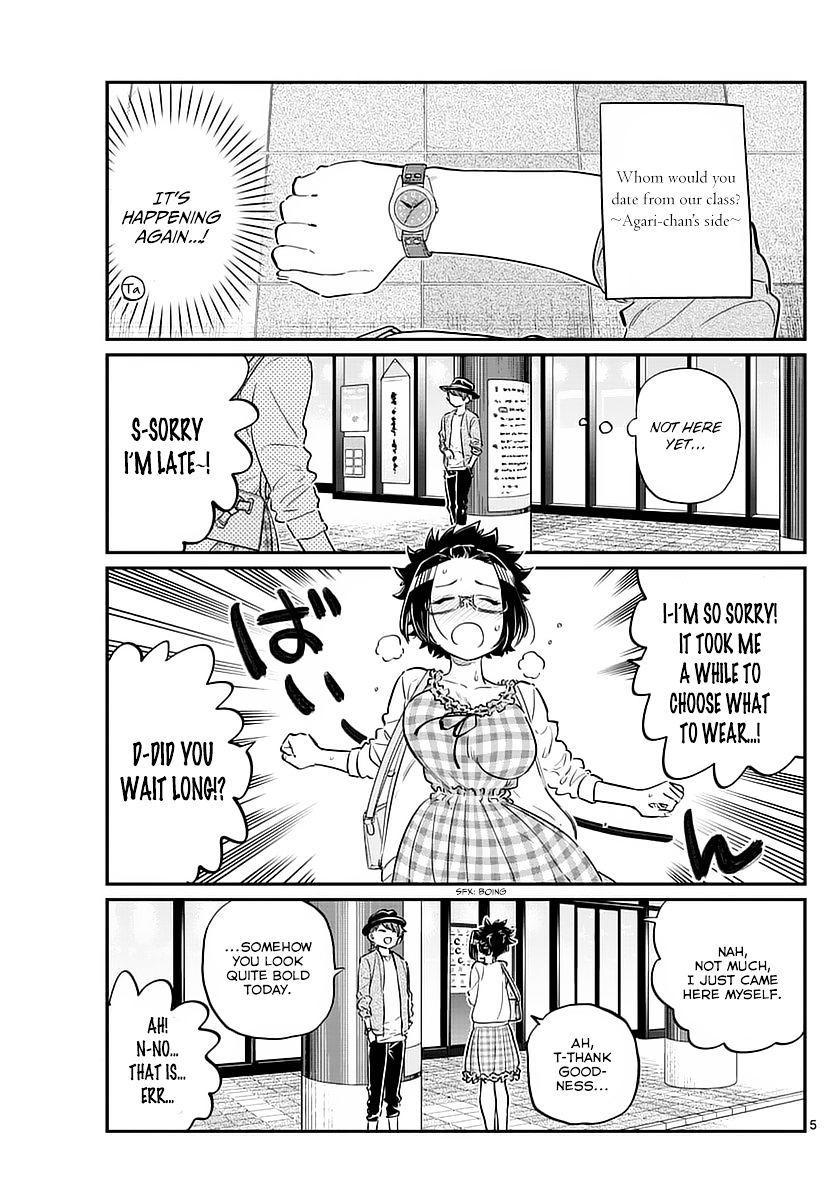 Komi-San Wa Komyushou Desu Vol.6 Chapter 75: Delusions page 5 - Mangakakalot