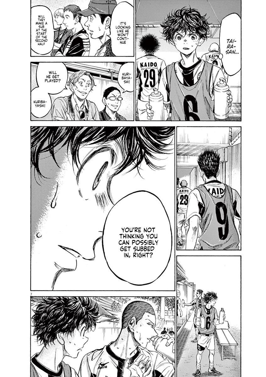 Ao Ashi Vol.13 Chapter 128: Substitution page 9 - Mangakakalots.com