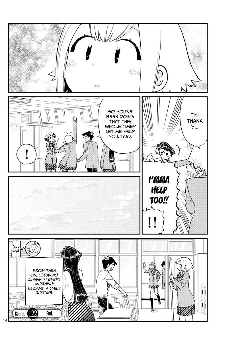 Komi-San Wa Komyushou Desu Vol.9 Chapter 122: Sweetness page 14 - Mangakakalot