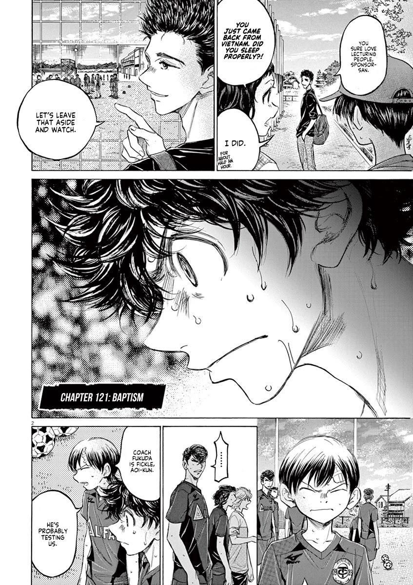 Ao Ashi Chapter 121: Baptism page 3 - Mangakakalots.com