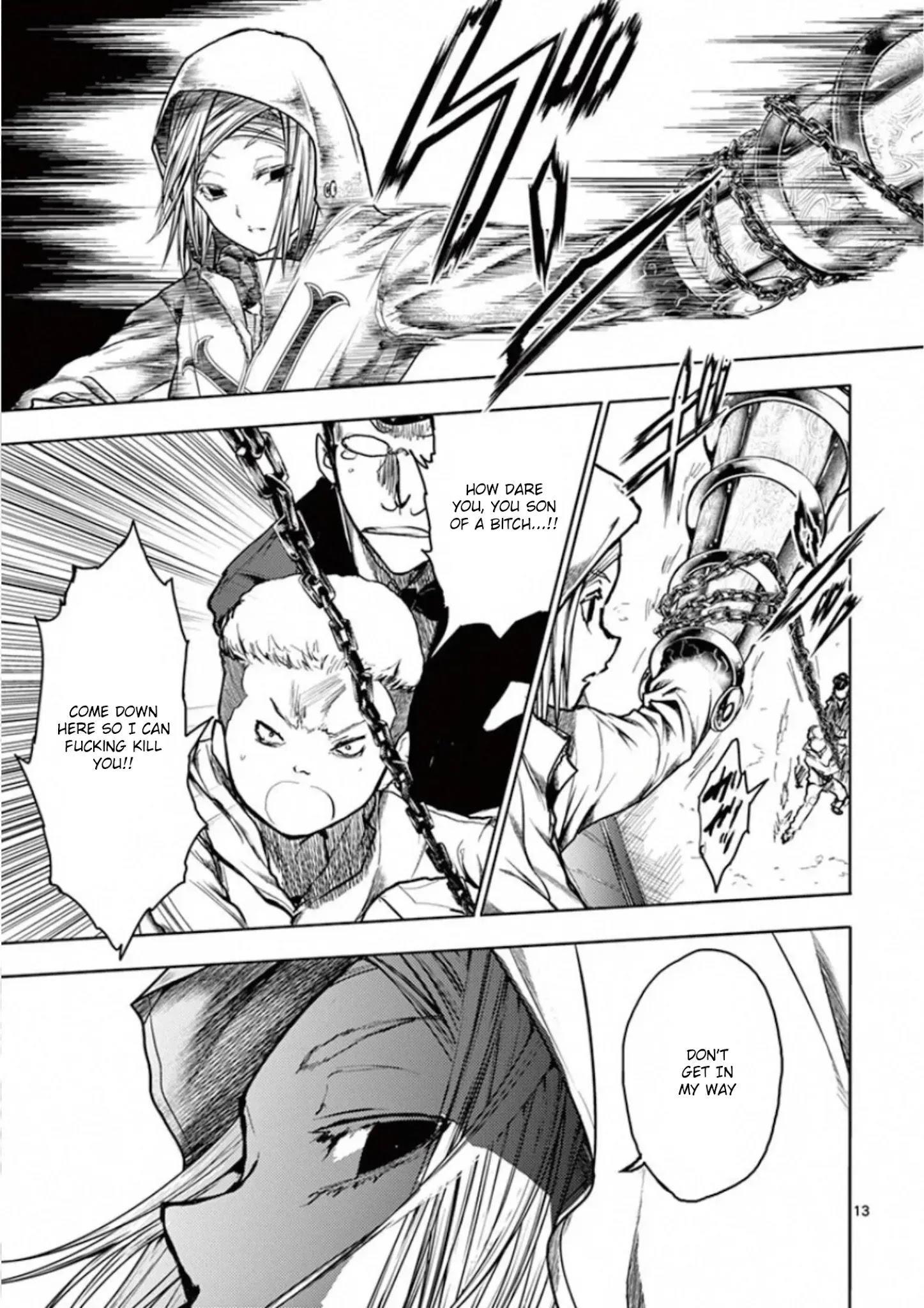 Deatte 5 Byou De Battle Chapter 133: Mark Of Rebellion page 13 - Mangakakalots.com
