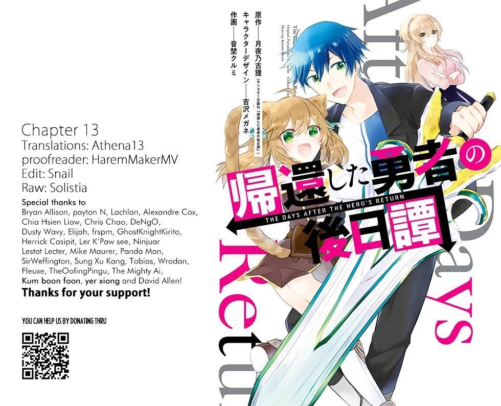 Kikanshita Yuusha No Gojitsudan Chapter 13 page 1 - Mangakakalots.com