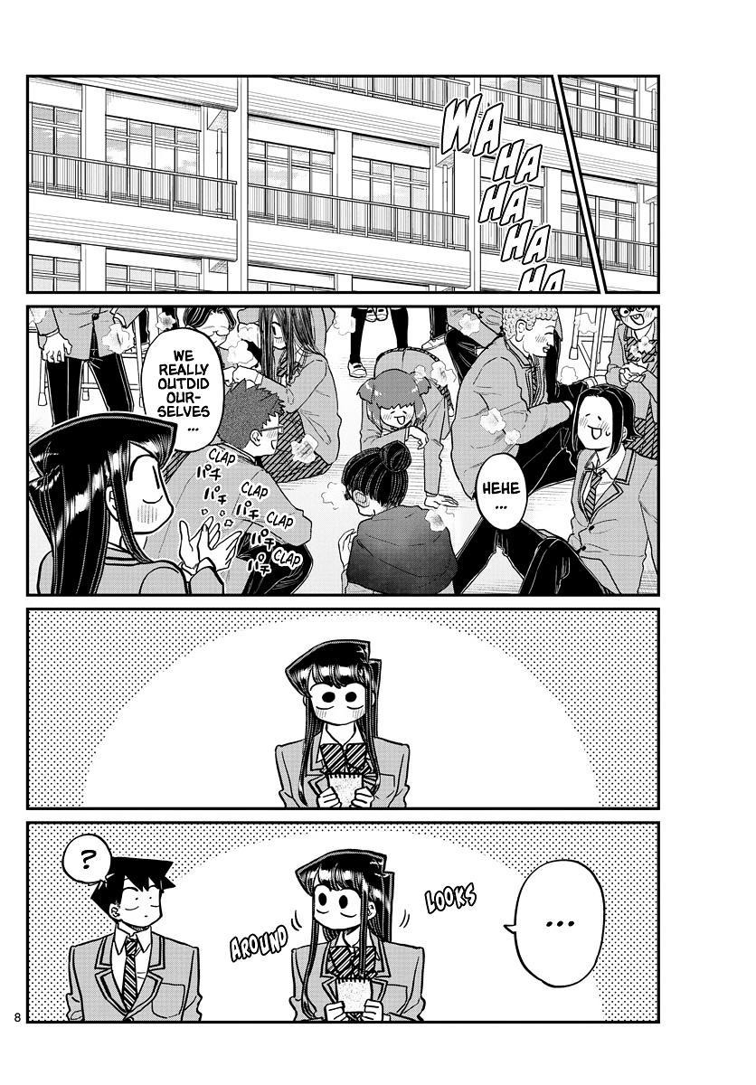 Komi-San Wa Komyushou Desu Chapter 323: Second Year Graduation Ceremony page 8 - Mangakakalots.com