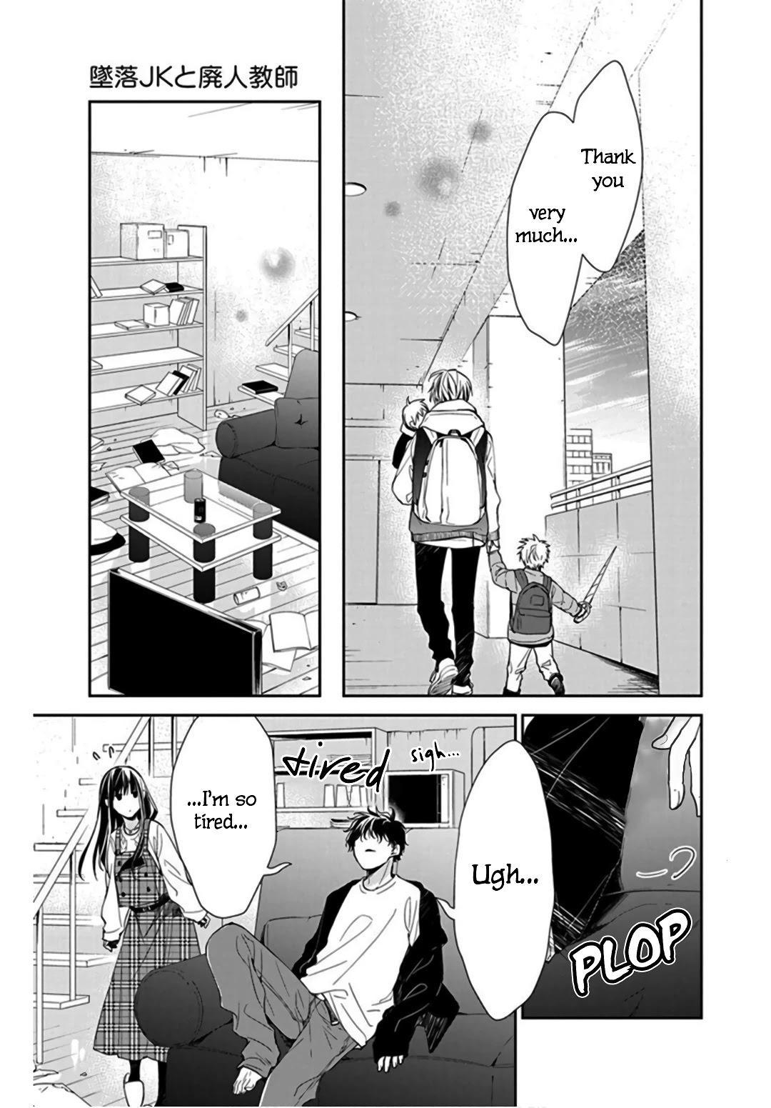 Tsuiraku Jk To Haijin Kyoushi Chapter 36 page 19 - Mangakakalots.com