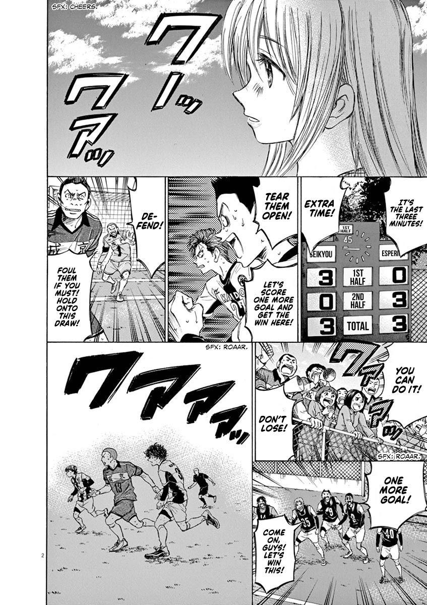 Ao Ashi Chapter 54: Eagle Eye (2) page 2 - Mangakakalots.com