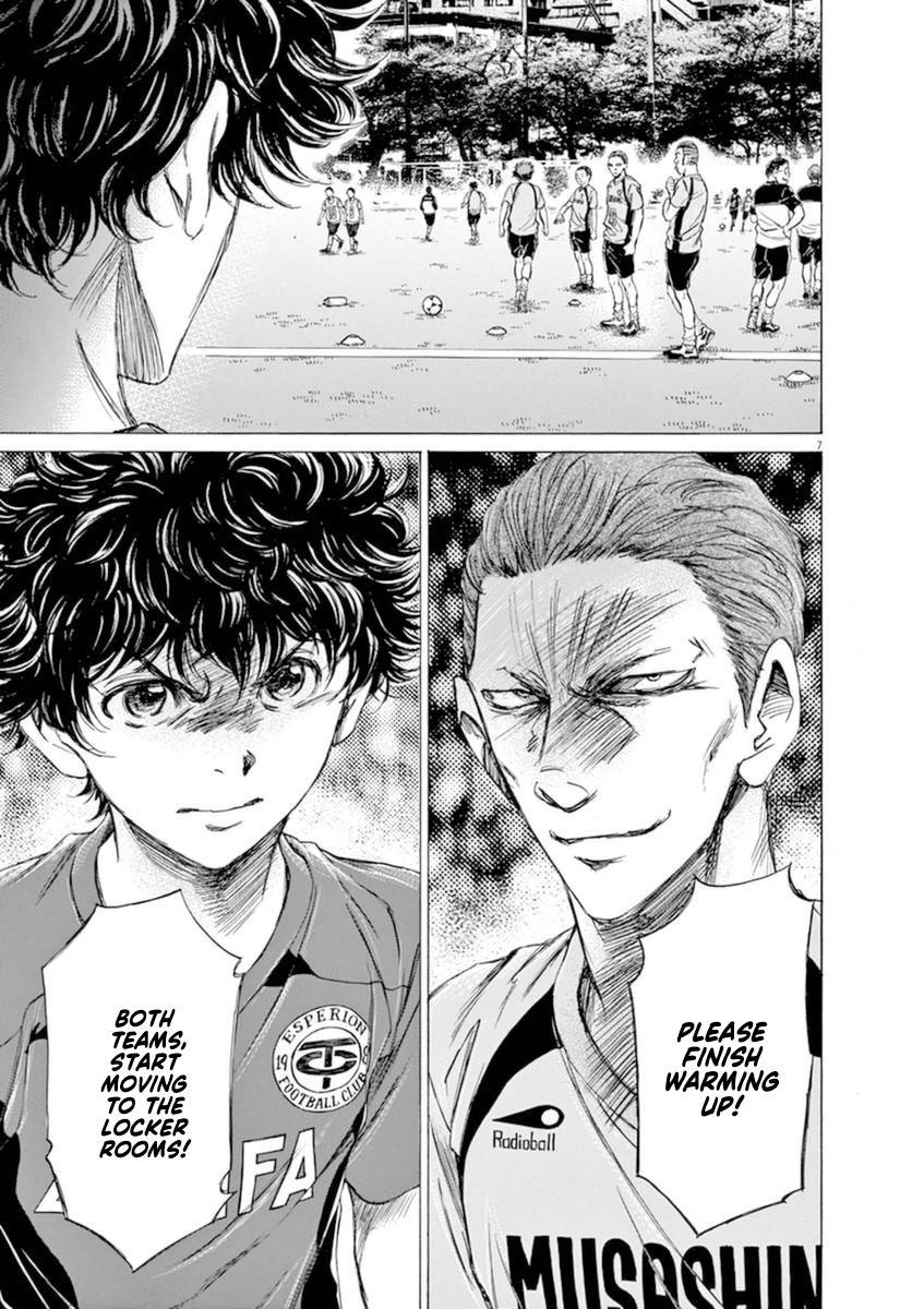 Ao Ashi Vol.9 Chapter 93: I'll Be Gone For Ten Minutes page 7 - Mangakakalots.com