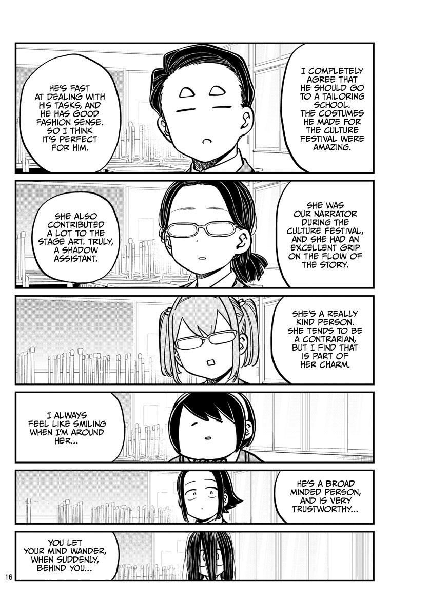 Komi-San Wa Komyushou Desu Chapter 256: Career Counseling page 16 - Mangakakalot