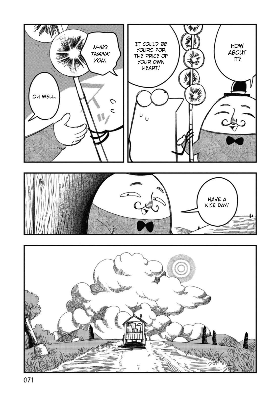 Rojica To Rakkasei Chapter 21: A Beautiful Heart page 9 - Mangakakalots.com