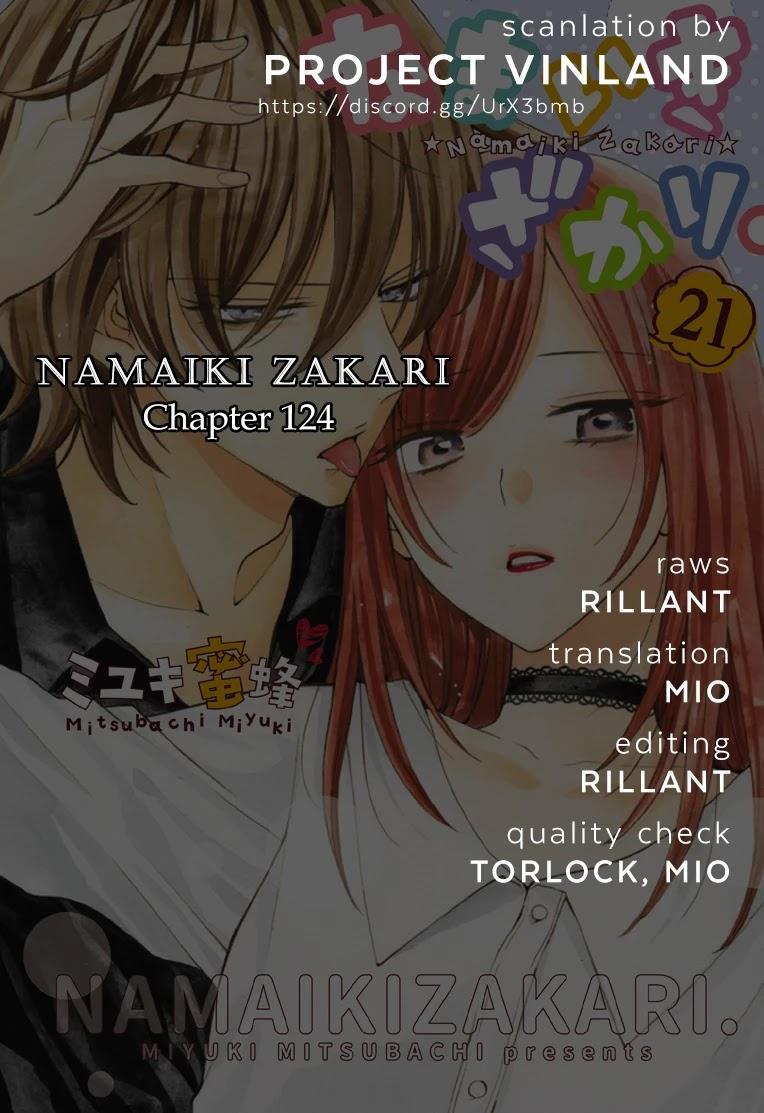 Namaikizakari Chapter 124 page 1 - Mangakakalots.com